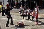 Straßenkünstler: Jongleure mit Jongliertellern - Haverhill