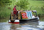 Grand Union Canal Leicester Line: Ausflugs-Narrowboat - Crick