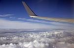 Flug Frankfurt-Hahn – Porto: Wolkenformationen - Europa