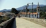 """Jakobsweg (Caminho Português): Römische Brücke """"Ponte de Lima"""" - Ponte de Lima"""