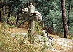 Jakobsweg (Caminho Português): Cruz dos Franceses (Cruz dos Mortos) - Labruja-Tal