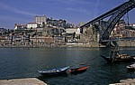 Blick auf die Altstadt Portos (Ribeira)  - Vila Nova de Gaia
