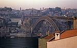 Blick auf die Ponte Luís I - Vila Nova de Gaia