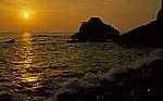 Sonnenuntergang am Meer - Atlantikküste
