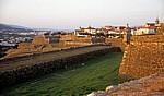 Blick über die Fortaleza (Festung) auf die Altstadt - Valença