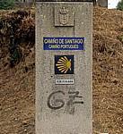 Jakobsweg (Caminho Português/Camiño de Santiago): Camino-Stein  - Tui