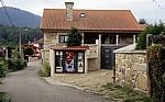 Jakobsweg (Caminho Português): Getränkeautomat (statt Bar) - Ribadelouro