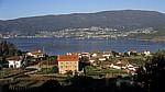 Jakobsweg (Caminho Português): Blick auf die Meeresbucht - Ría de Vigo