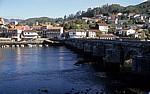 Jakobsweg (Caminho Português): Blick auf Ponte Sampaio - Arcade
