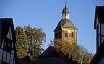 Ev. Stadtkirche zwischen Fachwerkhäusern - Tecklenburg