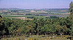 Jakobsweg (Camino Francés): Blick von der Hochebene - Matagrande