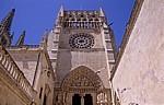 Catedral de Burgos (Kathedrale): Pforte Sarmental - Burgos