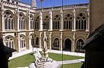 Catedral de Burgos (Kathedrale): Blick in den Claustro bajo (Unterer Kreuzgang) - Burgos
