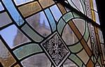 Catedral de Burgos (Kathedrale): Fenster im Claustro (Kreuzgang) - Burgos