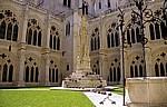 Catedral de Burgos (Kathedrale): Claustro bajo (Unterer Kreuzgang) - Burgos