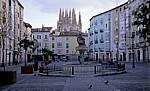 Calle de la Huerta: Brunnen - Burgos