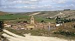 Jakobsweg (Camino Francés): Blick auf den Ort - Hontanas