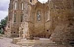 Jakobsweg (Camino Francés): In den Klosterruinen San Antóns - San Antón