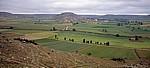 Jakobsweg (Camino Francés): Blick auf Castrojeriz - Alto de Mostelares