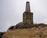 Jakobsweg (Camino Francés): Jakobsweg-Denkmal - Alto de Mostelares