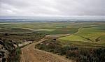 Jakobsweg (Camino Francés): Blick auf die Meseta - Alto de Mostelares