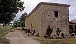 Jakobsweg (Camino Francés): Rast an der Ermita de San Nicolás - San Nicolás de Puente Fitero
