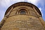 Iglesia de San Martín: Außenansicht der Apsis - Frómista