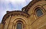 Iglesia de San Martín: Detailansicht der Außenfassade - Frómista
