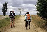 "Jakobsweg (Camino Francés): Pilger auf der ""Pilgerautobahn"" - Villalcázar de Sirga"