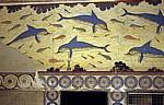 Palast: Megaron der Königin - Delphinfesko - Knossos