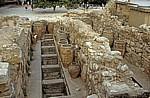 Palast: Untere Lagerräume - Pithoi - Knossos