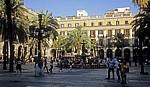 Barri Gòtic: Plaça Reial - Barcelona