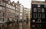 Achterburgwal: Grachtenhäuser - Amsterdam