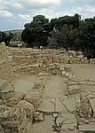 Ausgrabungsgelände - Knossos