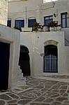 Typisches Haus der Kykladen - Lefkes