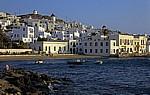 Blick vom Hafen auf Mykonos - Mykonos