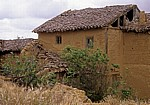 Jakobsweg (Camino Francés): Haus in Adobe-Bauweise - Moratinos