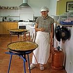 Jakobsweg (Camino Francés): Albergue San Antonio de Padua - Küche - Villar de Mazarife
