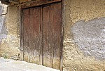 Jakobsweg (Camino Francés): Holztür - San Justo de la Vega