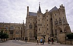 Jakobsweg (Camino Francés): Palacio Episcopal (Bischofspalast, Antoni Gaudí) - Astorga