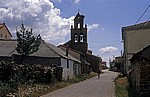 Jakobsweg (Camino Francés): Pilger in El Ganso - El Ganso