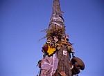 Jakobsweg (Camino Francés): Cruz de Ferro – Von Pilgern abgelegte Gegenstände - Montes de León