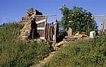 Jakobsweg (Camino Francés): Albergue - Toilette - Manjarín