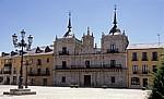 Jakobsweg (Camino Francés): Plaza del Ayuntamiento – Ayuntamiento (Rathaus) - Ponferrada
