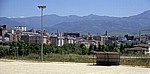 Jakobsweg (Camino Francés): Blick auf die Stadt - Ponferrada