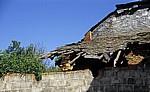 Jakobsweg (Camino Francés): Eingefallenes Dach - Valtuille de Arriba