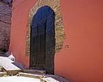 Jakobsweg (Camino Francés): Eingangstür - Villafranca del Bierzo