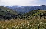 Jakobsweg (Camino Francés): Ausblick auf dem Weg nach O Cebreiro - Castilla y León
