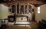 Jakobsweg (Camino Francés): Capilla Nuestra Señora de las Nieves - A Balsa