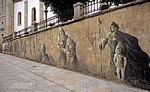 Jakobsweg (Camino Francés): Calle Mayor - Graffiti - Sarria
